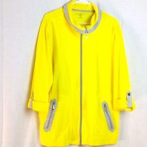 NWOT Karen Scott Light Jacket